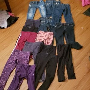 Other - 14 pair of pants 4t Lot